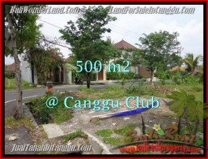 Exotic PROPERTY CANGGU 500 m2 LAND FOR SALE TJCG176