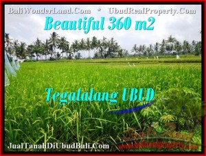 FOR SALE Exotic 360 m2 LAND IN UBUD TJUB482