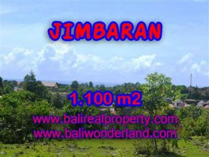 FOR SALE Exotic 1,100 m2 LAND IN Jimbaran Ungasan BALI TJJI067