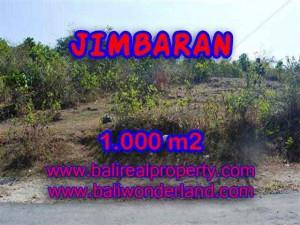 FOR SALE Beautiful PROPERTY 1,000 m2 LAND IN JIMBARAN TJJI074