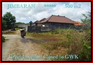 Magnificent PROPERTY 500 m2 LAND SALE IN JIMBARAN TJJI084