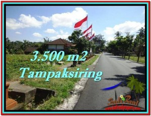 Affordable 3,500 m2 LAND FOR SALE IN UBUD BALI TJUB517