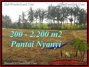 Exotic 2,200 m2 LAND IN TABANAN BALI FOR SALE TJTB224