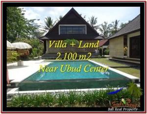 2,190 m2 LAND FOR SALE IN UBUD BALI TJUB530