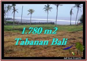 Magnificent TABANAN BALI 1,780 m2 LAND FOR SALE TJTB249