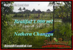 Magnificent PROPERTY CANGGU BALI 1,000 m2 LAND FOR SALE TJCG180