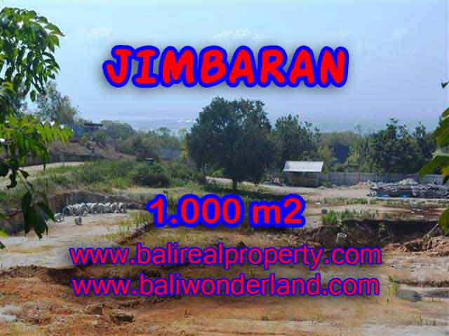 Land in Bali for sale, Great view in Jimbaran Bali – 1.000 m2 @ $ 375