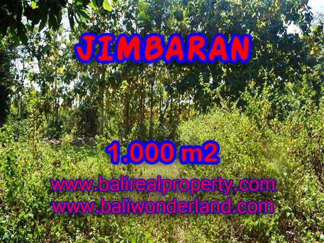 Exotic PROPERTY 1,000 m2 LAND FOR SALE IN JIMBARAN TJJI071