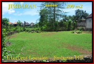 Exotic PROPERTY 200 m2 LAND FOR SALE IN JIMBARAN TJJI087