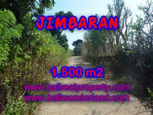 Magnificent LAND IN Jimbaran Ungasan FOR SALE TJJI075