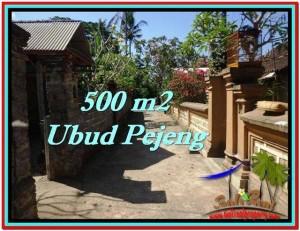 Affordable 500 m2 LAND SALE IN UBUD TJUB515
