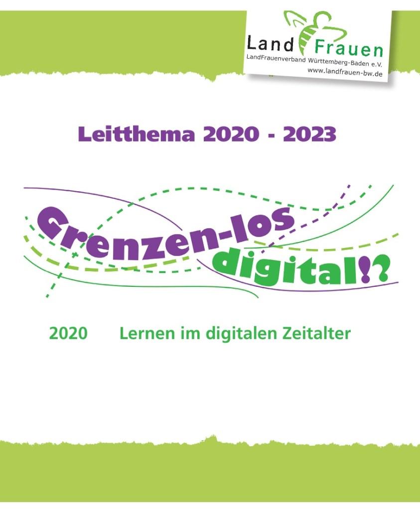 Genzen- los digital!? Lernen im digitalen Zeitalter