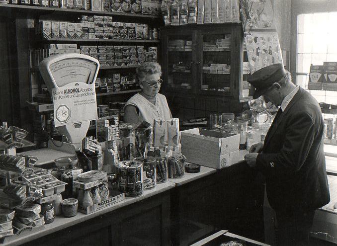 1950 Poststelle Landgasthof Graes