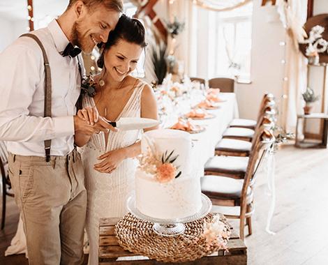 Hochzeitstorte Hochzeit feiern Lahn-dill-kreis