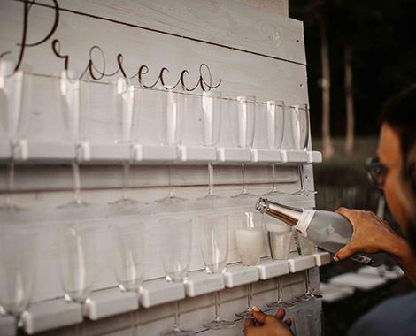Prosecco Idee Hochzeit DIY