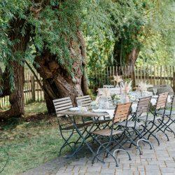 Tischdekoration Hochzeit Gartenhochzeit Fine Art Boho Pastelltöne