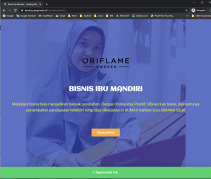 oriflame LP web ID