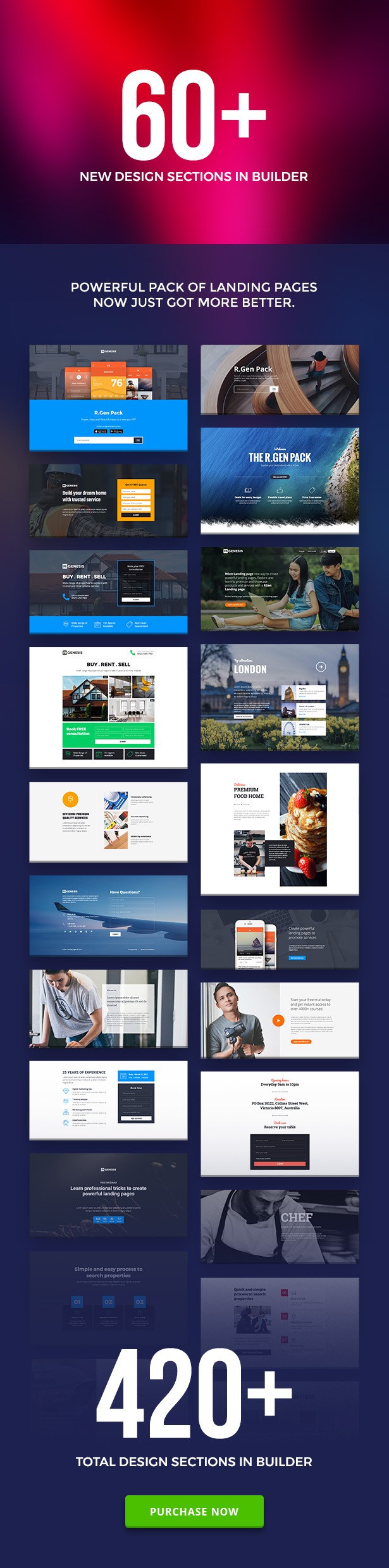 RGen   HTML Landing Pages with Builder - 3