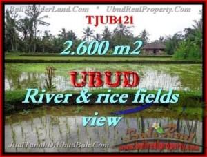 Exotic PROPERTY UBUD LAND FOR SALE TJUB421