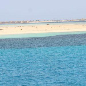 Остров Утопия находящий в курорте Сафаги