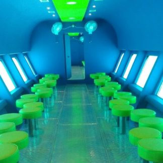 Excursion on semi-submarine in Sharm El-Sheik: picture from inside the semi-submarine