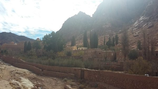 Excursion to the Monastery of St. Catherine from Sharm El-Sheikh : picture of the monastery