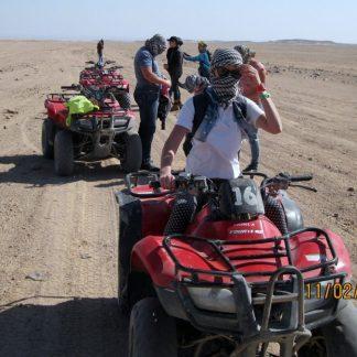 Quad in bici per tre ore a Hurghada
