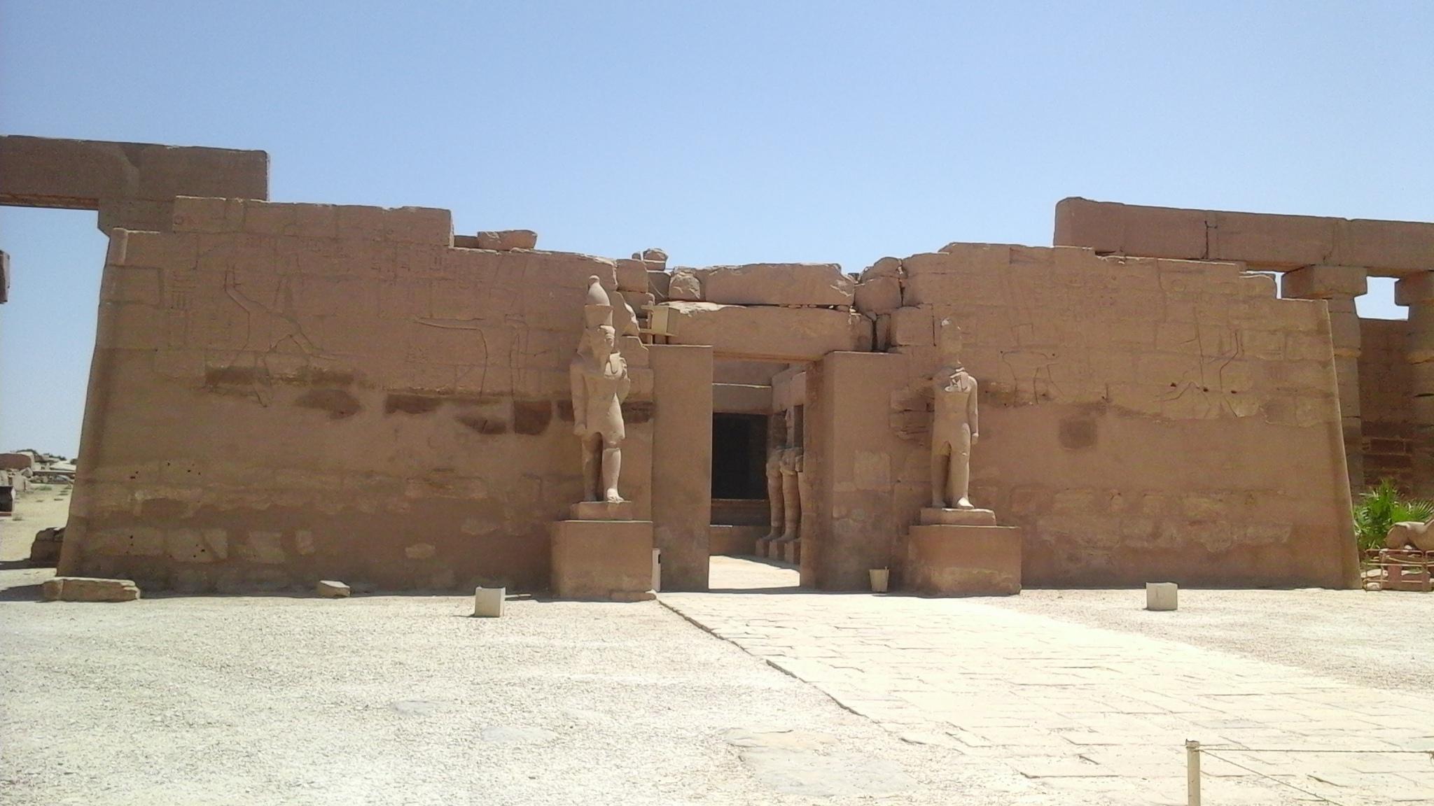 Bark Chapel of Ramses III in the temple of Karnak