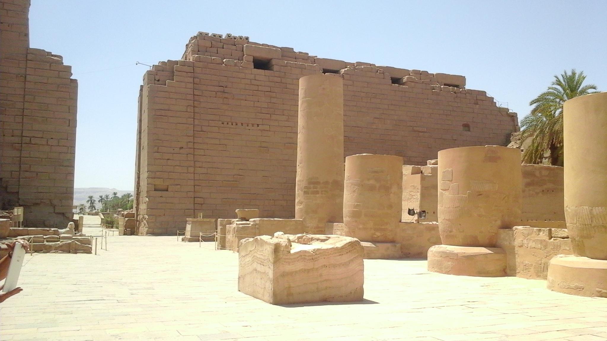 The Kiosk of Tahraqa in the temple of Karnak