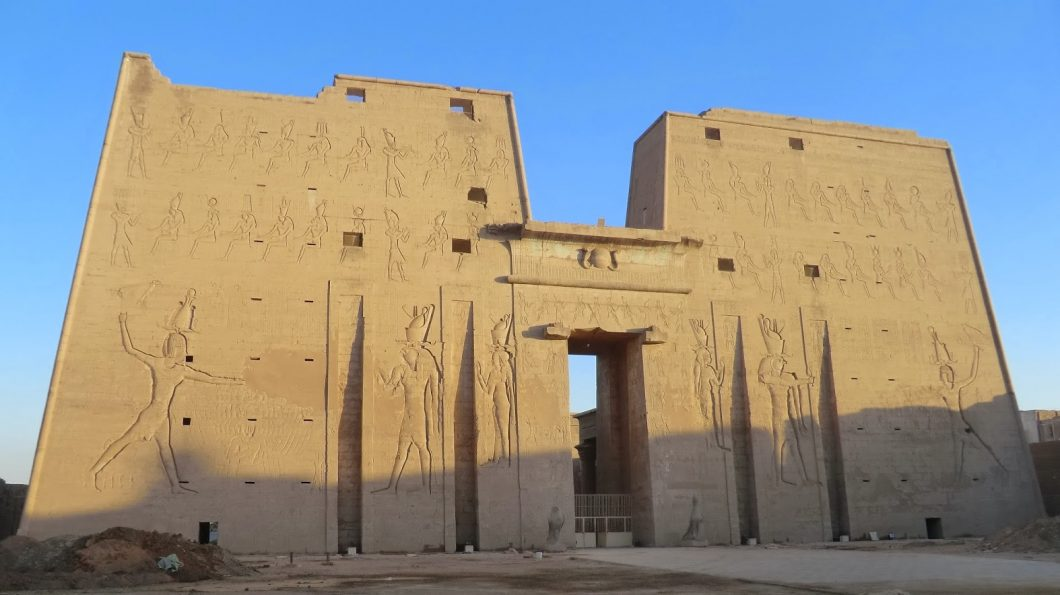 The Temple of Horus in Edfu