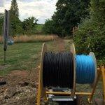 Underground Telephone Line Cabling Installation by Landline Man®