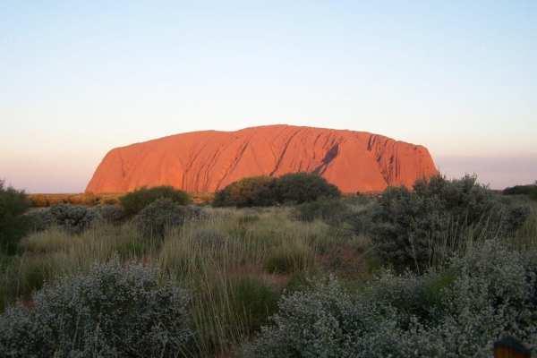 Uluru Sunset Australia