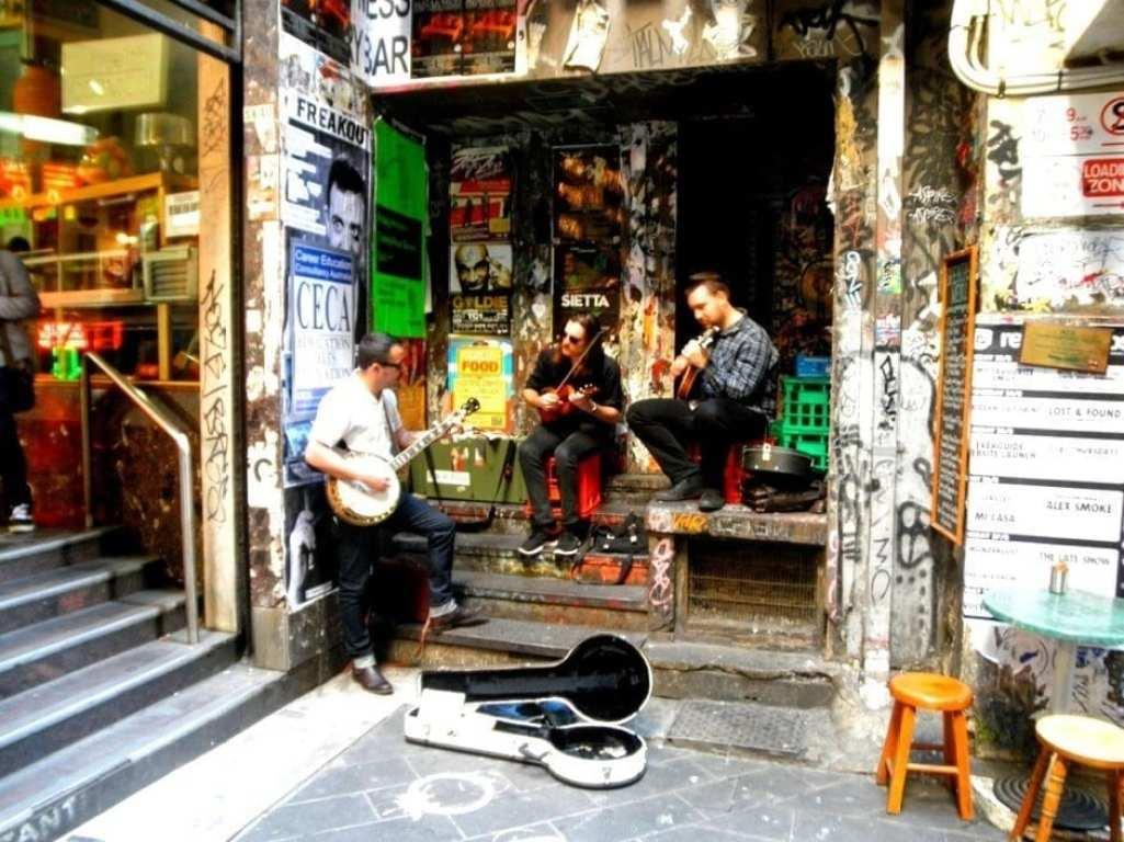 melbourne laneway musicians