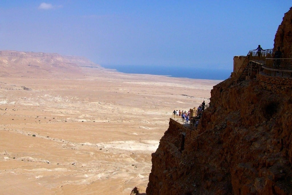 Cliffs of Masada, Israel
