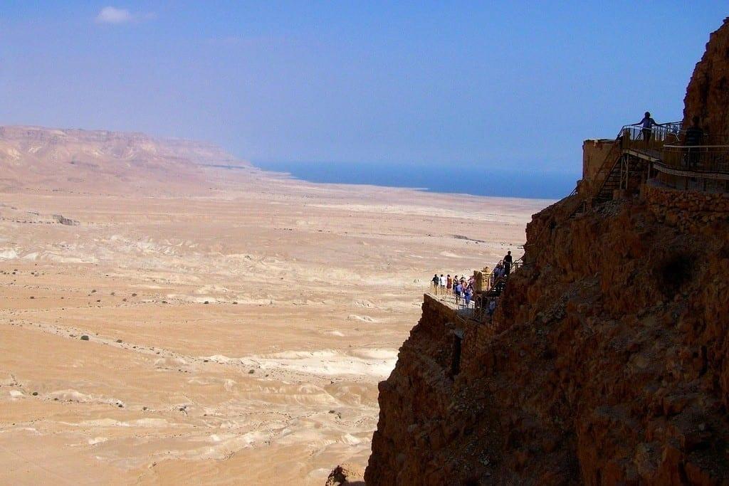 Cliffs of Masada, Israel