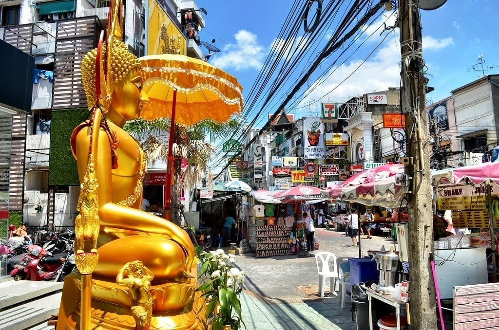 Khaosan Road in Bangkok
