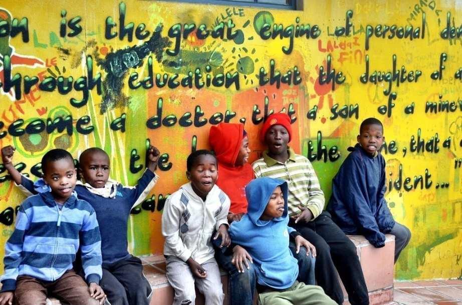 Masiphumelele Township kids