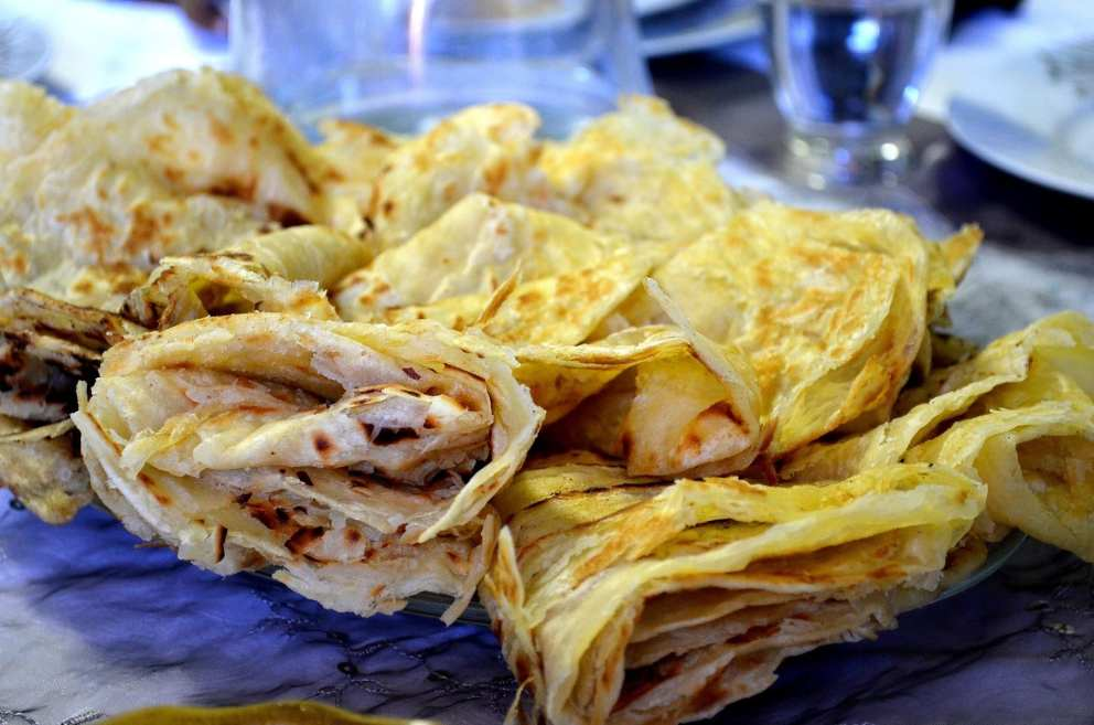 Cape Malay roti