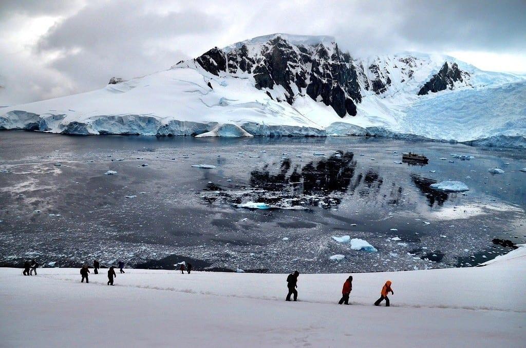 Antarctica hike