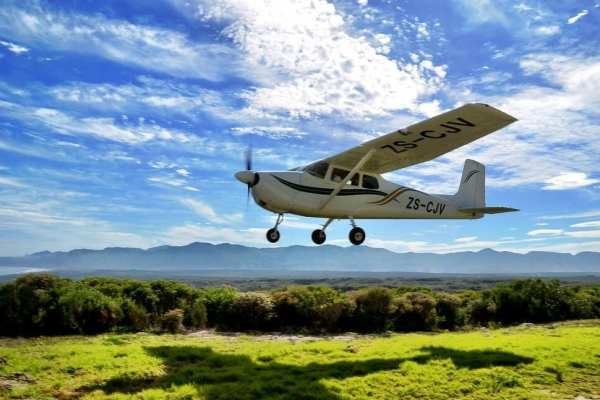 Plane Overberg South Africa
