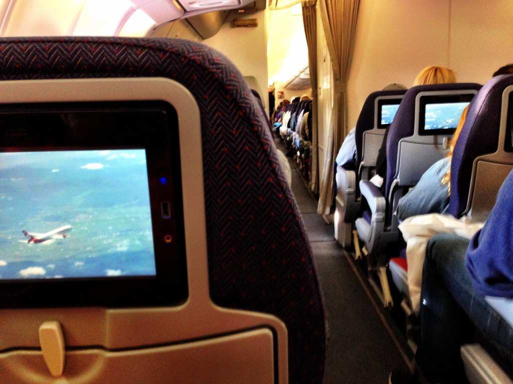 Air Berlin Economy Cabin