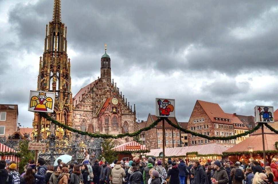 Nuremberg Christmas Market Germany