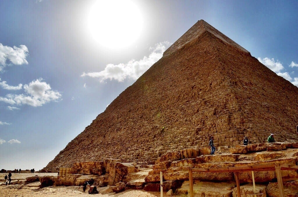 Pyramid of Khafre Cairo Egypt