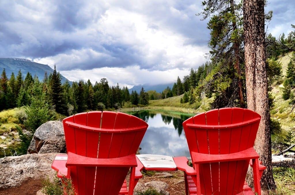 Valley of Five Lakes Jasper Alberta Canada
