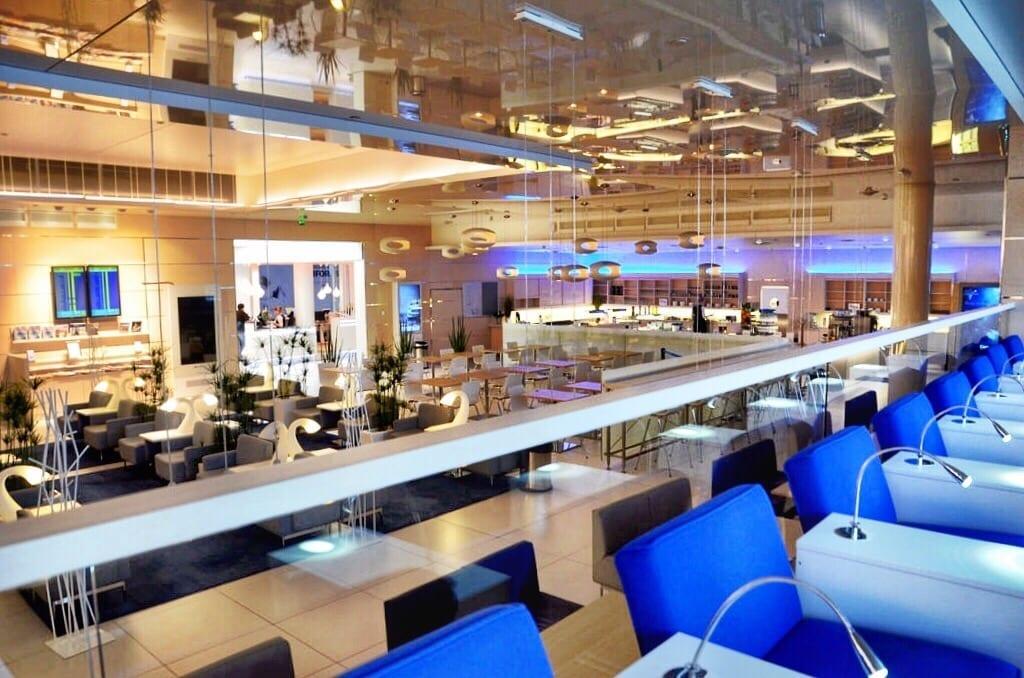 Finnair Lounge Helsinki Finland