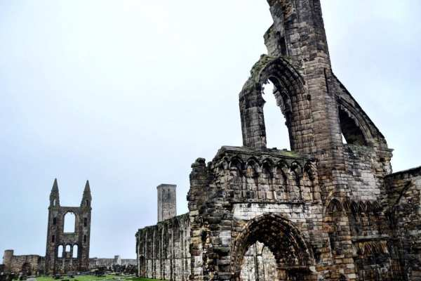 St Andrews Cathedral Scotland UK
