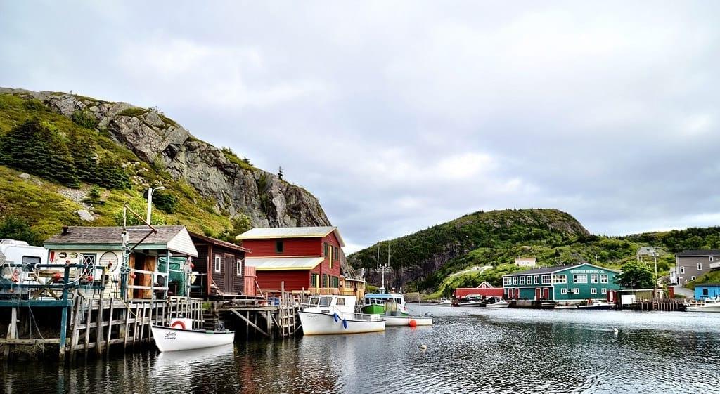 Quidi Vidi St Johns Newfoundland