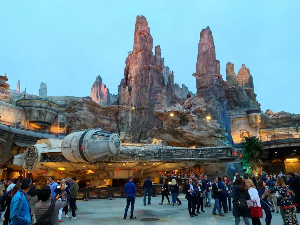 Star Wars Galaxys Edge Disneyland California