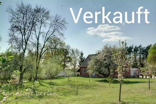 Alter Backsteinhof in der Uckermark