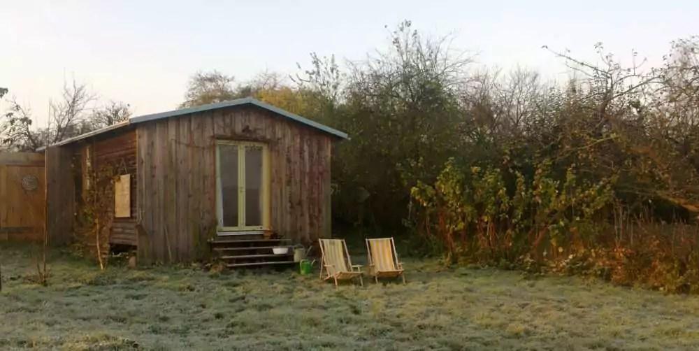 Einfaches Holzhaus Bauen wochenendhaus